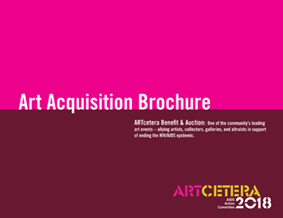 ARTcetera 2018 Art Acquisition Brochure cover
